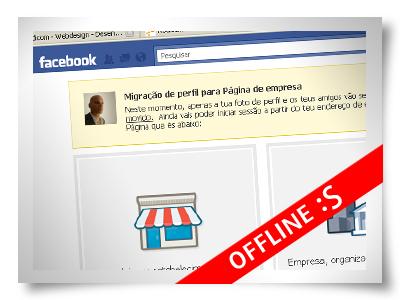 mudar-perfil-pagina-facebook-offline