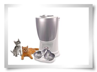 dispensador comida para caes gatos