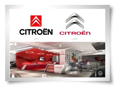 citroen logo redesign photoshop design retoque logótipo carros photoshop automovel 3d