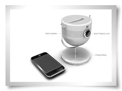 projector para ipod