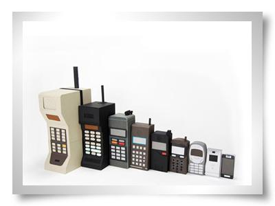evolucao dos telemoveis celulares
