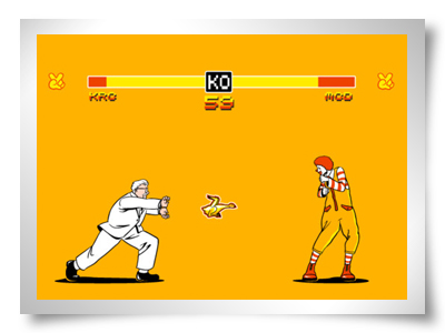 mac donalds versus kentucky fried chicken hamburgers