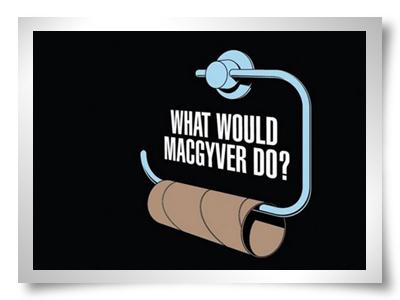 o que fazer quando falta o papel higiénico no wc