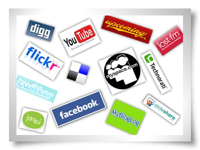 redes sociais google facebook hi5 myspace orkut twitter
