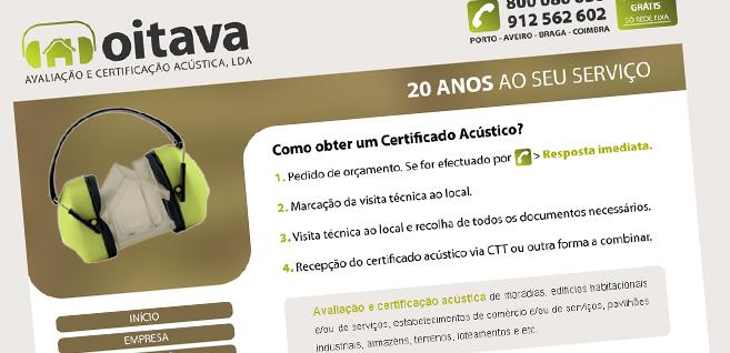 site-oitava-avaliacao-acustica-logotipo-design-grafico-aveiro